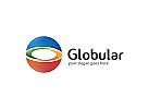 Ö, Globe, bunt, Reisen, Unternehmen, Beratung, Grafikdesign, Kreis Logo