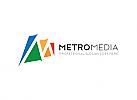 Ö, Buchstabe M, Marketing, Media, Technologie, Kommunikation, Internet, Cyber, Sicherheit, Programmierung Logo
