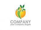 Ökologie, Natur, Sonne, Vegan, Logo