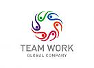 Gruppe Logo, Menschen Logo, Beratung, Logo