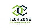 Würfel, Technik, Netzwerk, Logo