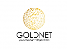 Welt, Finanzen, Gold, Erde, Web, Logo