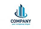 Immobilien, Finanzen, Beratung, Bau, Makler, Logo