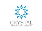 Eis, Kristall, Finanzen, Logo
