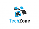 Daten, Technologie, Software, Internet, Logo