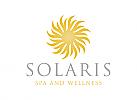 Sonne Logo, Gesundheit Logo, Natur Logo
