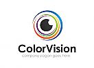 Auge, Farbe, Kamera, Kreis, Logo