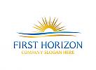 Horizont, Sonne, Meer, Tourismus, Urlaub, Hotel, Spa, Logo