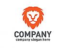 Löwe, König, Macht, Geschwindigkeit, Sport, Logo