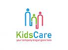 Familie, Pflege, Bildung, Erziehung, Unterstützung, Logo