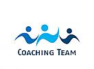 Zeichen, Menschen, drei Personen, Gruppe, Coaching, Consulting