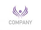 Kosmetik, Pflege, Massage, Schönheitssalon, Wellness, Florist, Logo