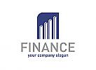 Immobilien, Daten, Finanzen, Bauen, Beratung, Logo