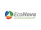 Ökologie, Recycling, Blatt, Umwelt, Logo