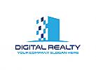 Immobilien, Finanzen, Bau, Makler, Beratung, Technik, Netzwerk, Logo