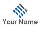 Zweifarbig, Rechteck, Linien, Verbindungen, Logo