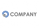 Zweifarbig, Ziel, Wellen, Kreise, Pfeil, Logo