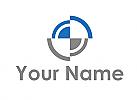Zwei Pfeile und Kreise, Ziel, Logo
