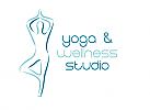 ö, Zeichen, zweifarbig, Signet, Symbol, Mensch, Yoga, Wellness, Sport, Logo