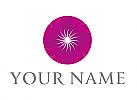 Zweifarbig, Spirale, Kreis, Vision, Logo