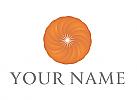 Ökologisch, Zweifarbig, Spirale, Kreis, Vision, Logo