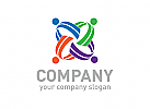 Menschen, Team, Gruppe, Beratung, Logo