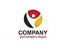 Medien logo, Bunt logo, Firma Logo, Unternehmen Logo, Beratung, Flagge, Logo
