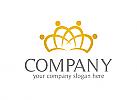 Gruppe Logo, Menschen Logo, Rat, Krone Logo