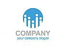 Gruppe, Gewerkschaft, Menschen, Beratung, Logo