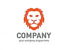 Löwe, Feuer, Firma, Logo, Grafikdesign