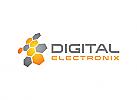 Hex, Digital, Technologie, Daten, Medien, Computer, Logo