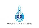 Zeichen, Wasser, Wassertropfen, Trinkwasser, Wasser zum Leben