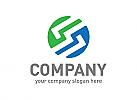 Buchstabe S, Symbol S, Synergie, Energie, Ökologie, Ordnung, Beratung, Erfolg, Logo