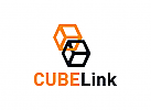 Kommunikation, Muster, Quadrat, Würfel, Informatik, Logo