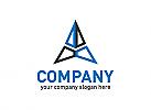 Blau, Technologie, Tech, Software, Pfeil, Programmierung, Logo