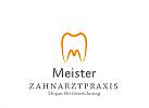 Zeichen, Zahn, Zahnarzt, Zahnarztpraxis mit Initial M