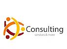 Zeichen, drei Menschen, Gruppe, Consulting, Coaching, Studienkreis