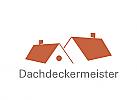 Zeichen, Dach, Dächer, Dachdeckermerister