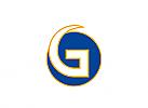 Zeichen, Initial G, im Kreis