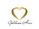 Zeichen, goldenes Herz, Heiratsagentur, Schmuckladen