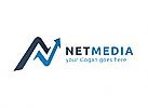 Ö, Zeichen, Symbol, Buchstabe N, Pfeil, Medien, Richtung, Investition Logo