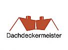 Zeichen, Haus, Dach, Dachdeckermeister