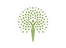Ökomedizin, Orthopädie, Physiotherapie, Person, Baum, Logo