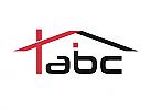 Zeichen, zweifarbig, Zeichnung, Haus, Dach, Bau, Logo