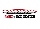 Zeichen, zweifarbig, Surf, SUP, Logo