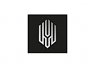 Zeichen, zweifarbig, Signet, Symbol, Helm, Ritter, Robot, Logo