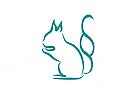 §, Zeichen, Eichhörnchen, Rechtsanwalt, Logo