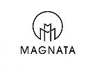 Zeichen, Zeichnung, zwei M, Logo