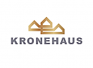 Zeichen, Zeichnung, Krone, Häuser, Gold, Logo