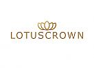 ö, Zeichen, Zeichnung, Signet, Symbol, Lotus, Blume, Krone, Logo